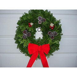 Fresh 24-inch Fresh Balsam Wreath