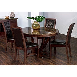 solid marble dining table free shipping today. Black Bedroom Furniture Sets. Home Design Ideas