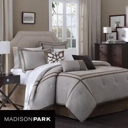 madison park easton 7 piece king cal king comforter set