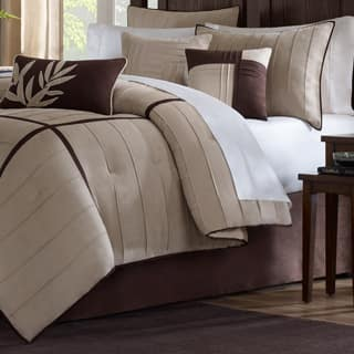 Madison Park Dune Beige/Brown 7-piece Contemporary Comforter Set|https://ak1.ostkcdn.com/images/products/P13267144L.jpg?impolicy=medium
