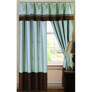 Lush Decor 84-inch Kyoto Curtain Panel