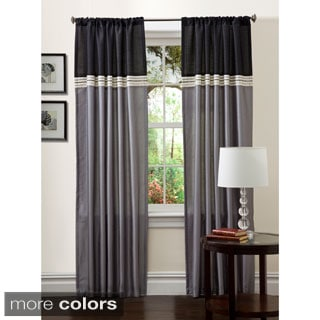 Lush Decor 84-inch Terra Curtain Panel Pair - 54 x 84