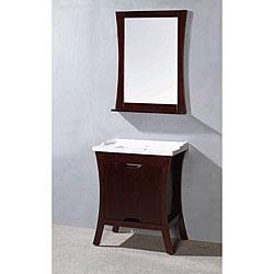 Corvus Modern Solid Wood Bathroom Vanity