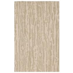 Hand-tufted Beige Wool Rug (5' x 8') - Thumbnail 0