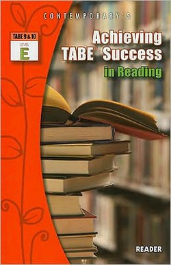 Achieving Tabe Success in Reading, Level E Reader (Paperback)