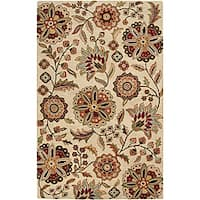 Hand-tufted Whimsy Ivory Wool Area Rug (5' x 8')