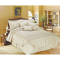 Metro Champagne 7 Piece King Size Comforter Set Free Shipping Today Overs