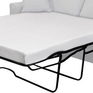 fort Dreams 4 5 inch Queen size Memory Foam Sofa Sleeper Mattress Overstock