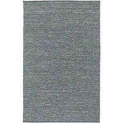 Hand-woven Cottage Grey Natural Fiber Jute Area Rug (8' x 11') - Thumbnail 0
