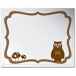 Shop Frameless 16x20 Owl Wall Mirror Free Shipping Today Overstock 5532288,Backyard Mother In Law Cottage Plans