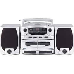 Best Portable Radio 2020 Shop Supersonic SC 2020 Portable CD/ Cassette/ AM/FM Stereo   Free