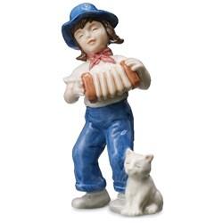 'Anna Accordion' 2009 BG Annual Porcelain Figurine - Thumbnail 0