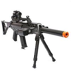 Spring Sniper Rifle FPS-220 Bipod Scope Silencer Airsoft Gun - Thumbnail 0