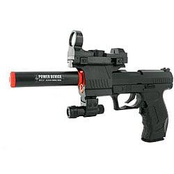 Electric Full Auto Tactical 2012A James Bond Airsoft Pistol - Thumbnail 0