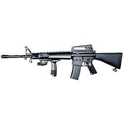 Spring Action M16A2 Assault Rifle Grip Full Stock Airsoft Gun - Thumbnail 0