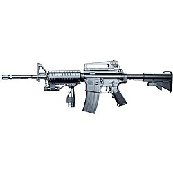 Spring M16A5 Assault Rifle Grip Collapsible Stock Airsoft Gun - Thumbnail 0