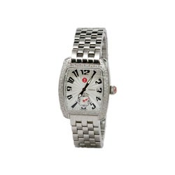 Michele Women's Urban Mini Diamond Stainless Steel Watch