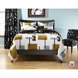 Reconstruction 6-pc Queen-size Duvet Cover and Insert Set - Thumbnail 0