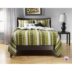 Radiant Flux 6-pc King-size Duvet Cover and Insert Set