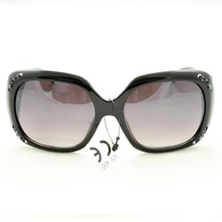 Women's P10048 Black Oversized Sunglasses