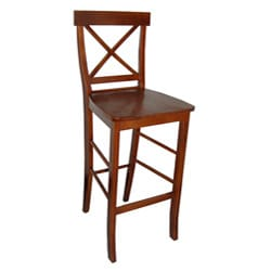 Simple Living Easton Crossback 30-inch Barstool