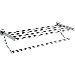 Shop Allied Brass 2 Tier 20 Inch Hotel Style Towel Rack