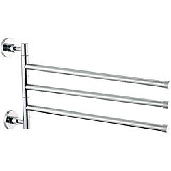 Allied Brass 3-arm Swinging Wall-mounted Towel Holder
