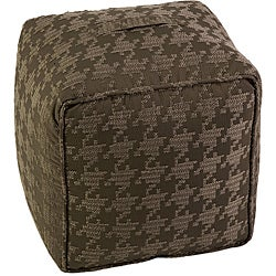 Americana Houndstooth Square Ottoman - Thumbnail 0
