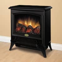 Dimplex CS-12053A Metal/ Glass Compact Stove with Electric Flame