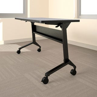 Mayline Flip-N-Go 48-inch Training Table
