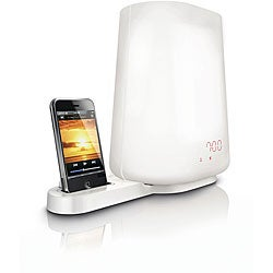 Philips Sounds FM Radio and iPod/iPhone Dock Wake-up Light