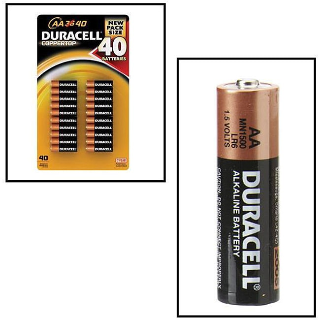 Shop Duracell Coppertop AA Alkaline Batteries (Case of 40