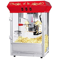 Great Northern 6100 Popcorn Red 8-oz Foundation Popcorn Machine Top