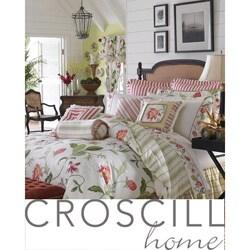 Shop Croscill Hibiscus 4 Piece Queen Size Comforter Set Free