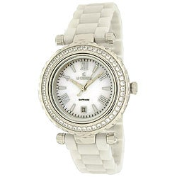 Thumbnail 1, Le Chateau Women's 'Persida LC' Studded Ceramic Watch.