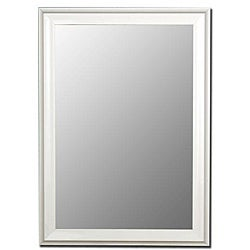 Glossy White Mirror