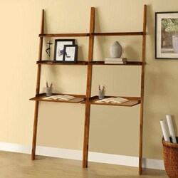 Cherry 2 Piece Leaning Laptop Shelf Free Shipping Today