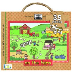 Giant 35-piece On the Farm Floor Puzzle
