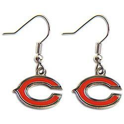 Chicago Bears Dangle Logo Earring Set - Thumbnail 0