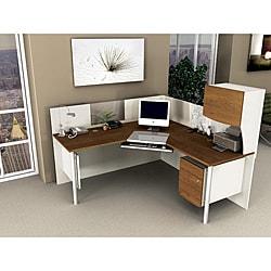 Thumbnail 1, Bestar Office Space Corner Desk.