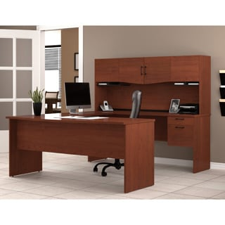 Bestar Harmony U Shaped Workstation Desk