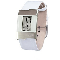 kenneth cole s digital white leather