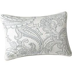 Chelsea Paisley Print Oblong Pillow