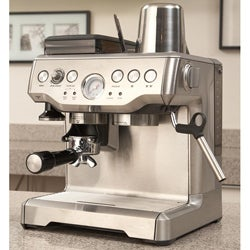 Breville BES860XL Barista Express Espresso Maker with Integrated Burr Grinder (Refurbished ...
