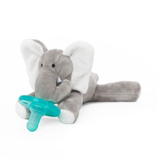 WubbaNub Elephant Infant Pacifier
