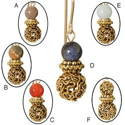 'Onatah' 14-karat Gold Fill Gemstone Earrings
