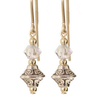 Gold Fill 'Tehya' Crystal Earrings