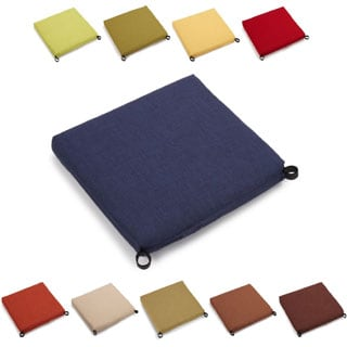 Blazing Needles 20-inch All-weather Patio Chair Cushion