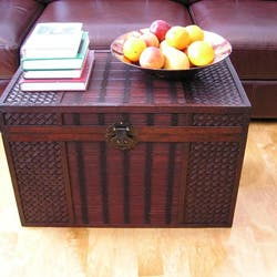 Original Hawaii Large Wood Trunk with Decorative Wicker https://ak1.ostkcdn.com/images/products/P13475958.jpg?impolicy=medium