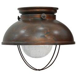 Fisherman Weather Copper Bronze Ceiling Light Fixture - Thumbnail 0